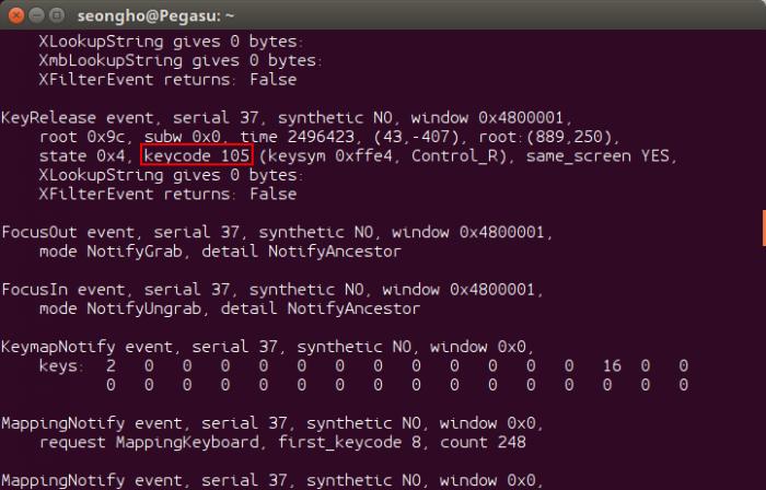 ubuntu-hangul-keycode-105